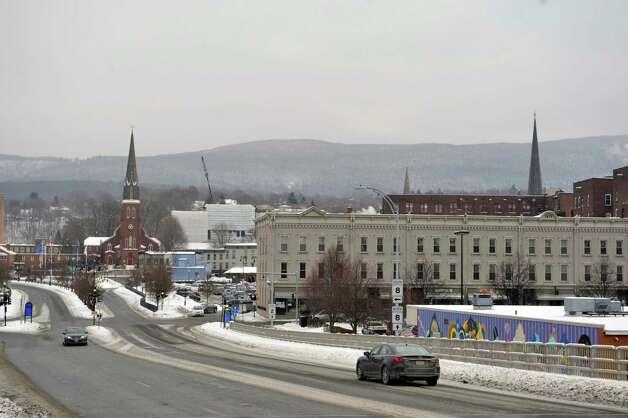 A view of the downtown area on Wednesday, Jan. 14, 2015, in North Adams, Mass.  (Paul Buckowski / Times Union) Photo: Paul Buckowski / 00030194A
