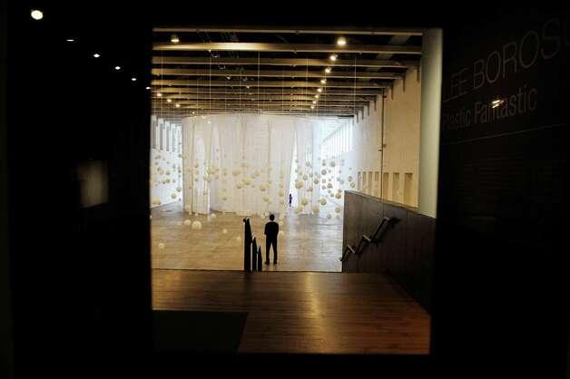 "An installation by artist Lee Boroson titled ""Plastic Fantastic,"" is shown at Mass MoCA on Wednesday, Jan. 14, 2015, in North Adams, Mass.  (Paul Buckowski / Times Union) Photo: Paul Buckowski / 00030194A"