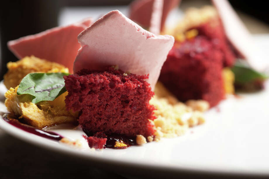 Beet cake from The Monterery. Photo: Robin Jerstad /For The Express-News / San Antonio Express-News