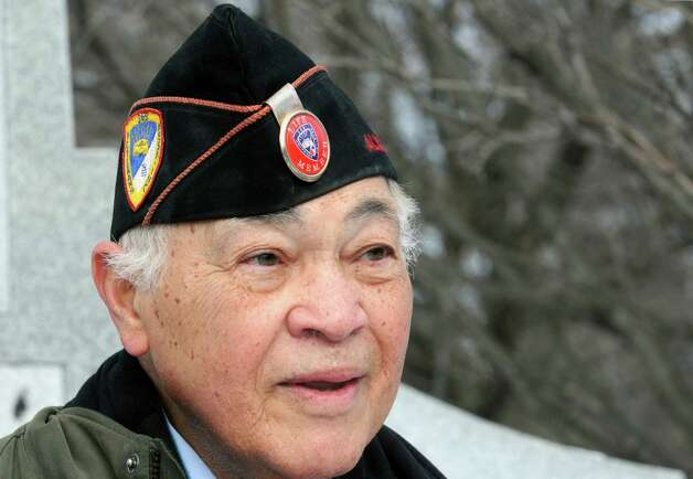 Congressman Paul Tonko (D-NY) announced at the Henry Johnson Memorial that Dr. Maurice Thornton, pictured, would be his guest at the 2015 State of the Union address in Washington, D.C. at Washington Park on Saturday Jan. 17, 2015 in Albany, N.Y.  Dr. Thornton, a native of Delmar, retired adjunct professor and veteran of the Korean War is also a leading member of the 369th Veterana€™s Association, a group dedicated to preserving and sharing the story of the all-African American 369th Infantry Regiment, known as the Harlem Hell-fighters. (Michael P. Farrell/Times Union) Photo: Michael P. Farrell / 00030237A