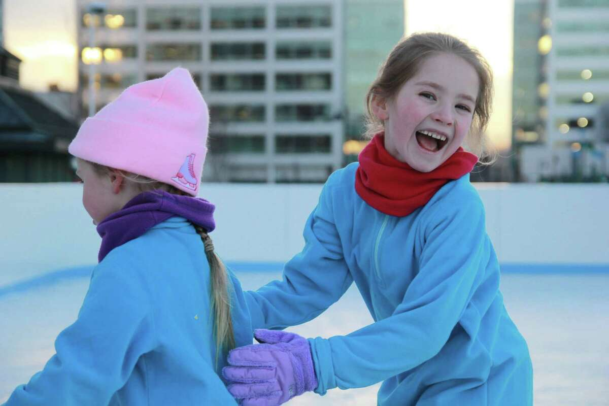 Were you SEEN ice skating at The Rink at Harbor Point in Stamford on January 17, 2015?See more photos
