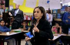 Attorney General Kamala Harris is likely to face challenges from other Democrats coveting Barbara Boxer's Senate seat.