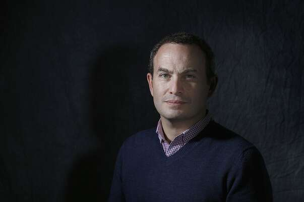 """CEO and founder Evan Marwel of EducationSuperHighway photographed in San Francisco, Calif., on Friday, December 19, 2014.   He has been nominated for the San Francisco Chronicle """"Visionary"""" Award."""