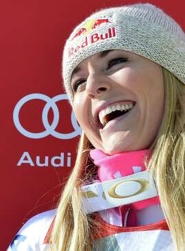 Lindsey Vonn basks in the glow of her 62nd World Cup victory.