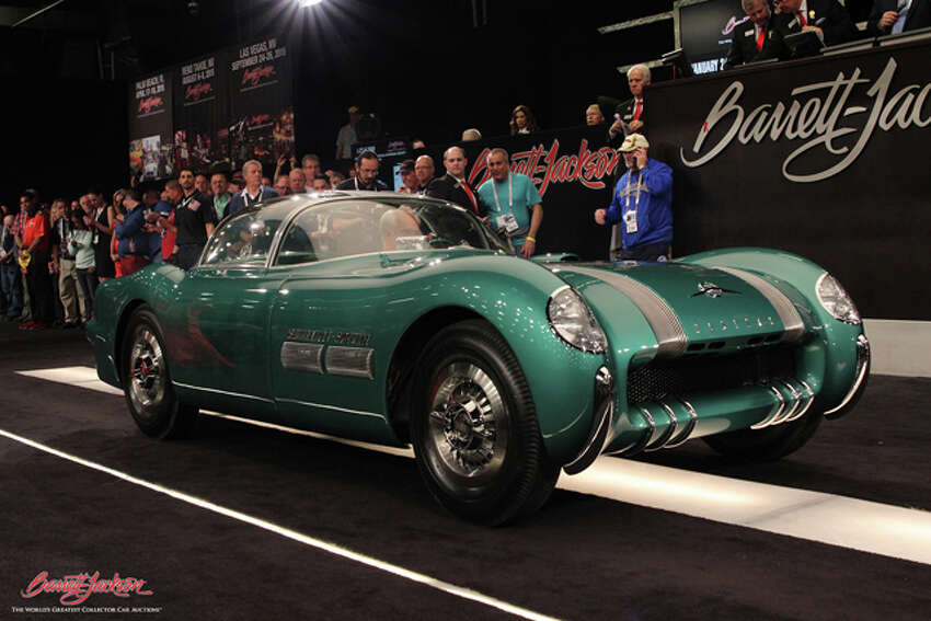 Lot #2500 - 1954 Pontiac Bonneville Special Motorama Concept Car sold for $3,300,000.Source:Classic Cars with Dan Lyons.