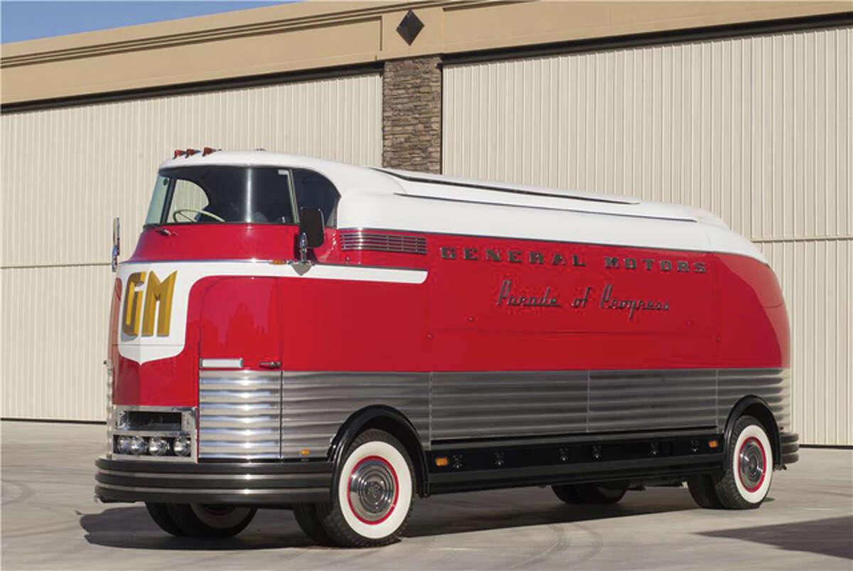 Lot #2501 - 1950 General Motors Futurliner Parade of Progress Tour Bus - $4,000,000.Source:Classic Cars with Dan Lyons.