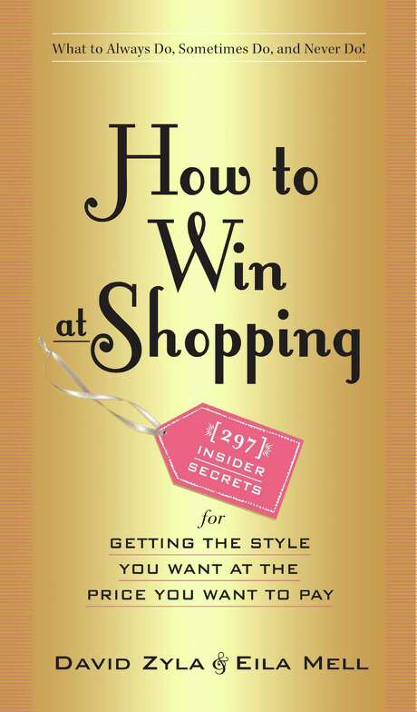 """The cover for """"How to Win at Shopping,"""" co-authored by David Zyla and Eila Mell, (Workman, $12.95). Photo: Courtesy Photo / San Antonio Express-News"""