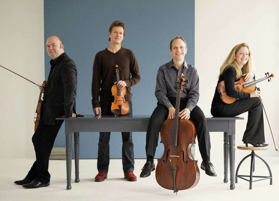 St. Lawrence String Quartet: Mark Fewer (left), Geoff Nuttall, Christopher Costanza and Lesley Robertson. Photo: Marco Borggreve / Marco Borggreve / ONLINE_YES