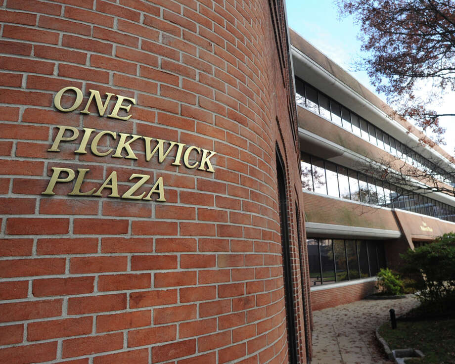 One Pickwick Plaza in Greenwich, Conn., Tuesday, Nov. 11, 2014. One Pickwick Plaza is part of the three-building 280,000-square-foot Class-A office complex located between Greenwich Avenue on the west, East Putnam Avenue on the north, Mason Street on the east and  Amogerone Crossway on the south. Kensico Properties is initiating a multi-million dollar capital-improvement program to totally revamp Pickwick Plaza. Photo: Bob Luckey / Greenwich Time