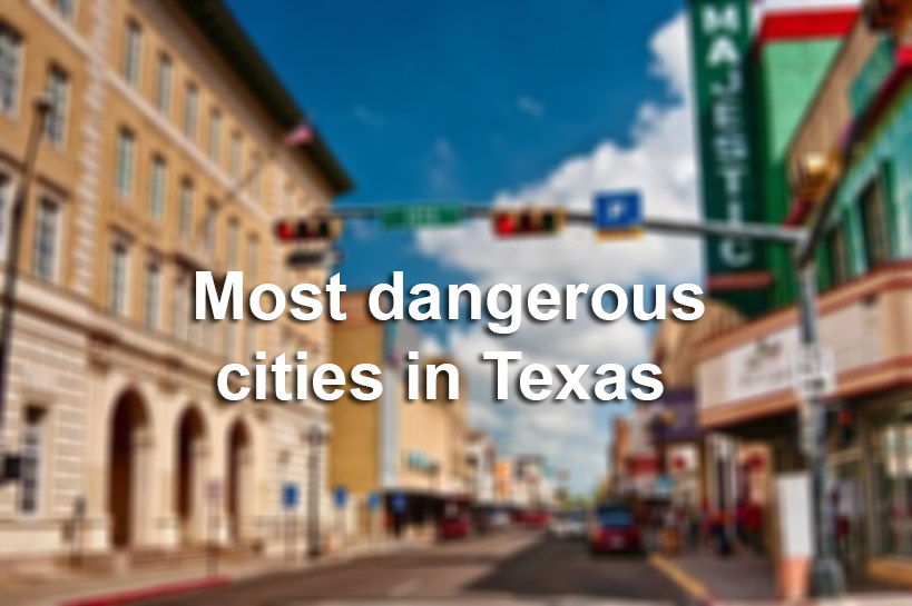 The Most Violent Cities In Texas San Antonio Express News