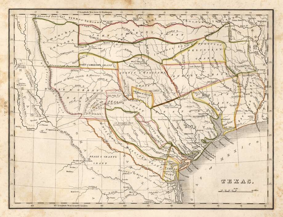 TEXAS Y'ALL: Maps that help explain Texas in 2016Check out these maps that show what defines the Lone Star State. From burger chains to NFL fans to gerrymandering, we look at the most fascinating maps about Texas.Keep going for a look at maps that help explain Texas' politics, along with equally important things like football, state pride and Whataburger... Photo: Thomas Gamaliel Bradford, University Of Texas Libraries