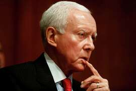 "Sen. Orrin Hatch says the president is listen ing to ""liberal allies."""