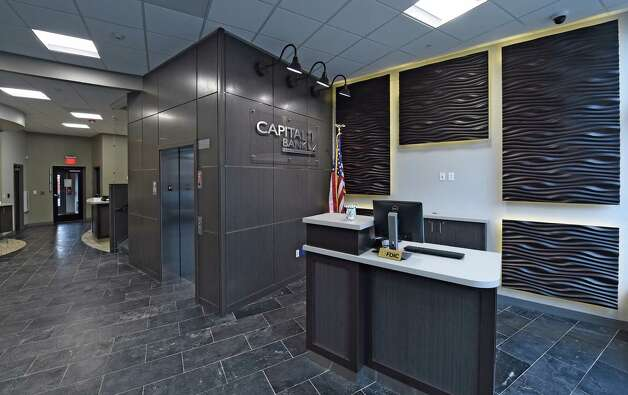 The reception area of the new Capital Bank building Monday morning, Jan. 19, 2015, at 132 State Street in Albany, N.Y.     (Skip Dickstein/Times Union) Photo: SKIP DICKSTEIN / 00030253A