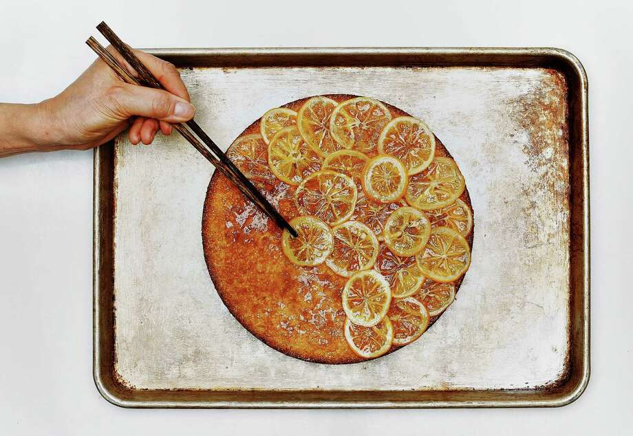 A Meyer Lemon Almond Cake. Photo: Russell Yip / The Chronicle / ONLINE_YES
