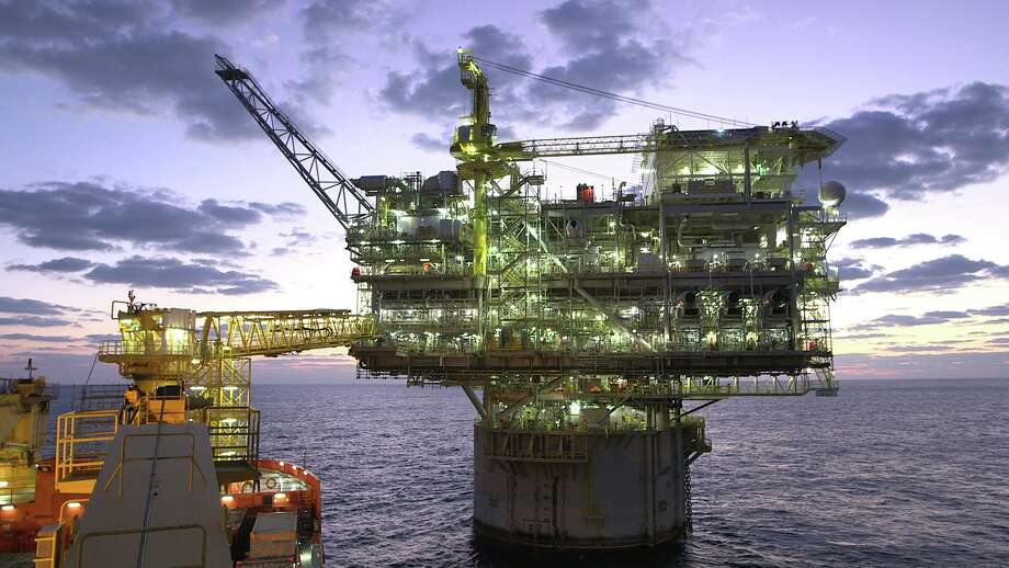 Anadarko Petroleum Corp. has begun producing oil from its Lucius production platform in the Gulf of Mexico. The timing of the projects illustrates how difficult it may be for producers to reduce the amount of crude they're pulling, said Chris Ross, executive professor at the University of Houston's Bauer College of Business. Photo: Courtesy Anadarko Petroleum Corp.
