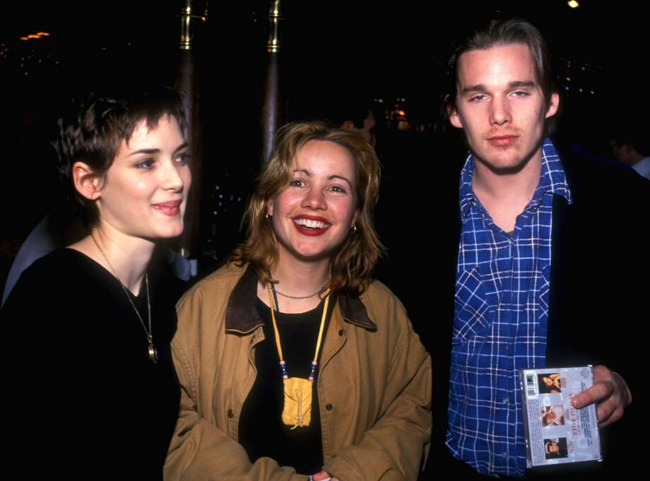 Winona Ryder, Janeane Garofalo and Ethan Hawke promoting Reality Bites. Photo: Randall Michelson, WireImage