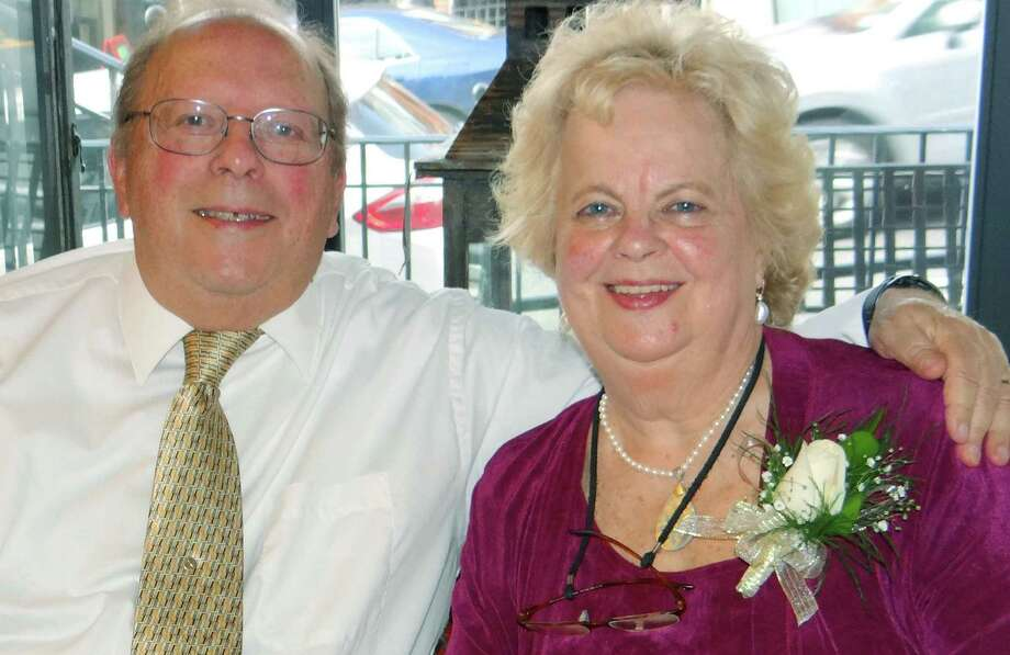 Janice and Herb Mayette of New Milford recently celebrated their 50th wedding anniversary. 2014  Courtesy of the Mayette family Photo: Contributed Photo / The News-Times Contributed