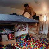 Rice University Senior David Nichol Created A Ball Pit In His Dorm Room,  January 2015 Part 89
