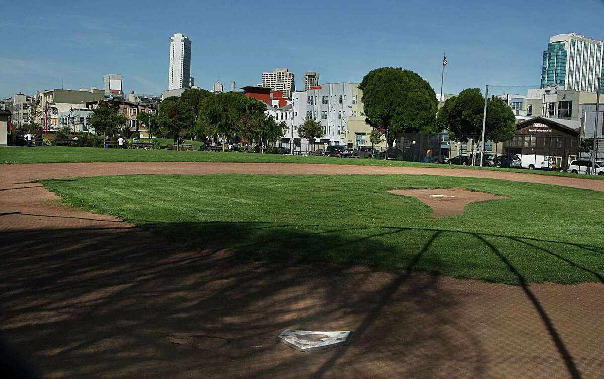 A condominium project South of Market was rejected because it would cast a shadow on Victoria Manalo Draves Park on Folsom Street.