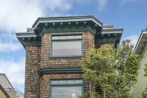 Craftsman finishes dominate four-level Edwardian in Sea Cliff - Photo