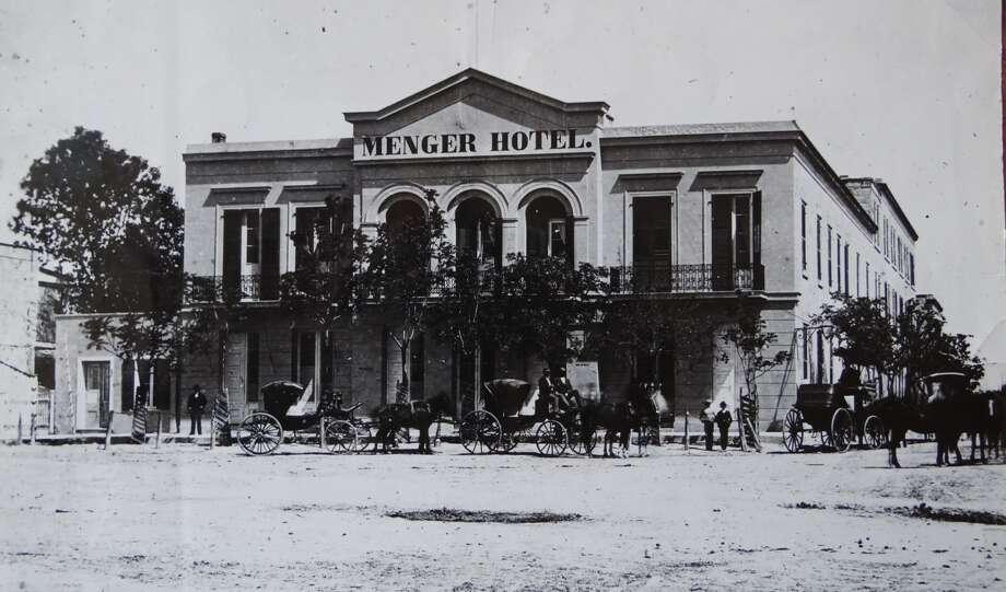 The Menger Hotel downtown San Antonio, circa 1860. Photo: Courtesy Photo / Menger Hotel / San Antonio Express News