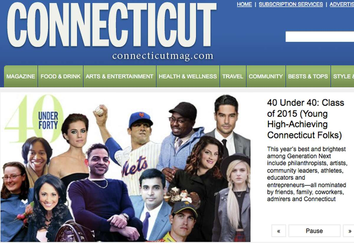 Connecticut Magazine recently released its annual '40 Under 40' list of high-achieving Connecticut residents.