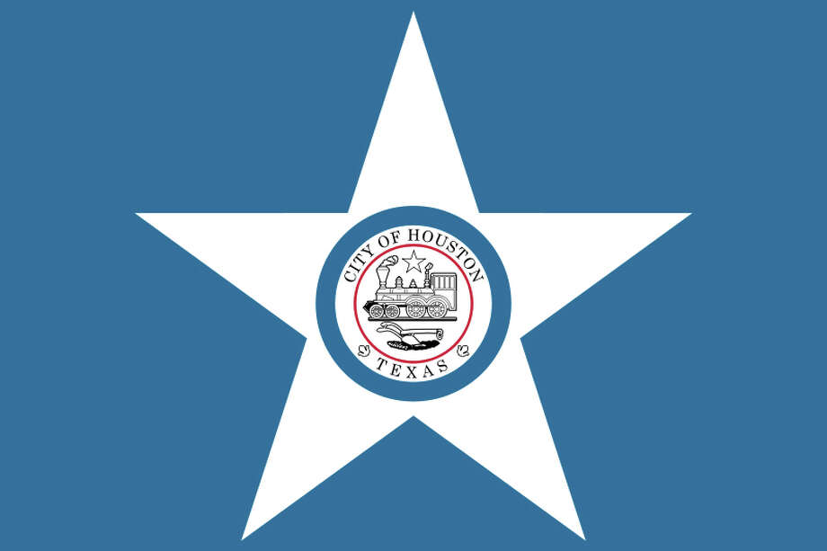 The flag designs of Texas citiesHouston's city flag was born in 1915, but the central motif, the city seal that bears a 4-4-0 locomotive and a plough, was created in 1840. Funnily enough, a railroad had not yet been constructed in Houston by 1840. It was likely the founders' intent to showcase that symbol on their seal to attract a railroad developer. The city wouldn't get one for more than a decade.Read more: Houston Chronicle Photo: Wikimedia Commons