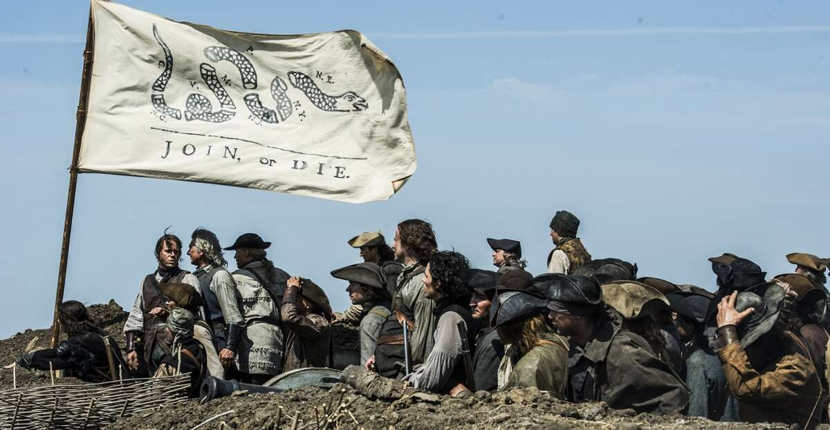 History Channel The Yanks fight back against the British in the History Channel miniseries