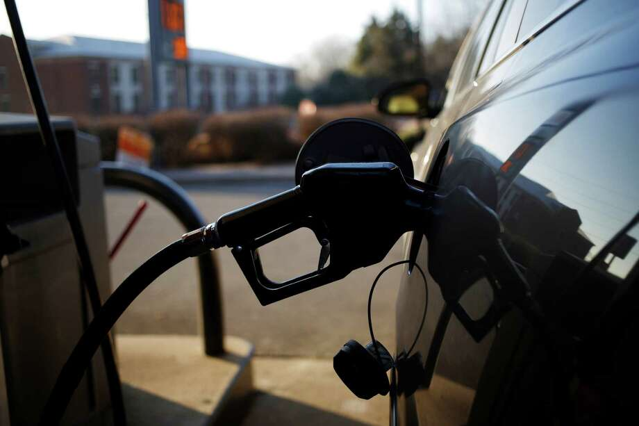 The average price of gas in Midland went up 3 cents this past week – three times the state average – to $3.12 a gallon for regular unleaded. Photo: Luke Sharrett /Bloomberg / © 2015 Bloomberg Finance LP