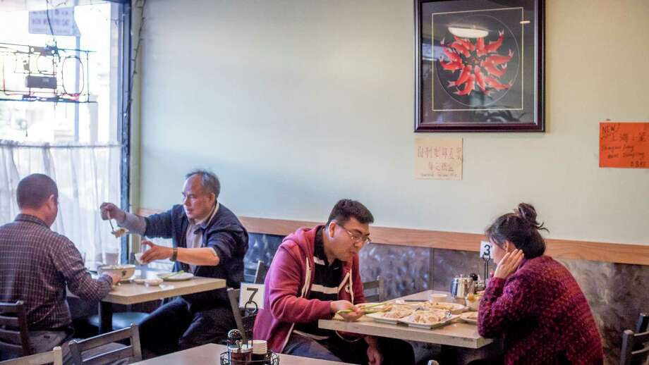 Diners have lunch at China North Dumpling in San Francisco. Photo: John Storey / Special To The Chronicle / ONLINE_YES