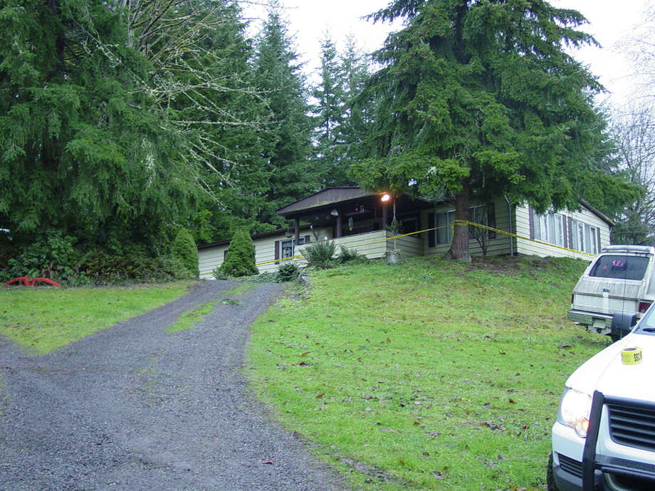 Judy and Wayne Anderson's home in Carnation, pictured in a law enforcement photograph taken shortly after they and four other members of their family were killed there. Photo: Photos Provided By The King County Prosecutor's Office