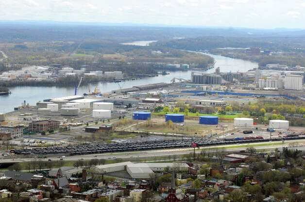 The Port of Albany on Thursday May 1, 2014 in Albany, N.Y. (Michael P. Farrell/Times Union) Photo: Michael P. Farrell / 00026663A