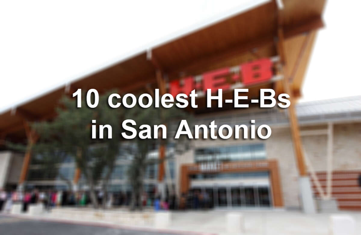 Each H-E-B looks different and reflects the local area where it is located. Here are 10 of the coolest H-E-Bs in San Antonio.