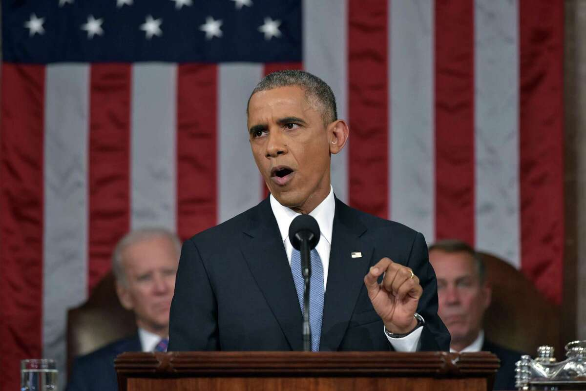 President Barack Obama delivers his sixth State of the Union address to a joint session of Congress on Capitol Hill Tuesday.