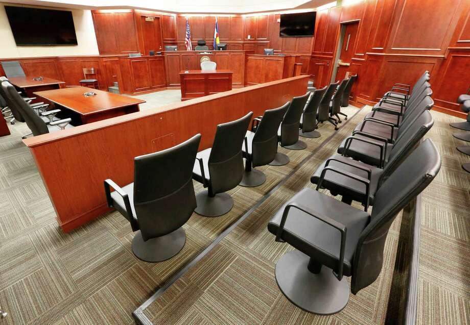 FILE -- Jury box (AP Photo/Brennan Linsley, Pool, File) ORG XMIT: COBL301 Photo: Brennan Linsley / AP Pool