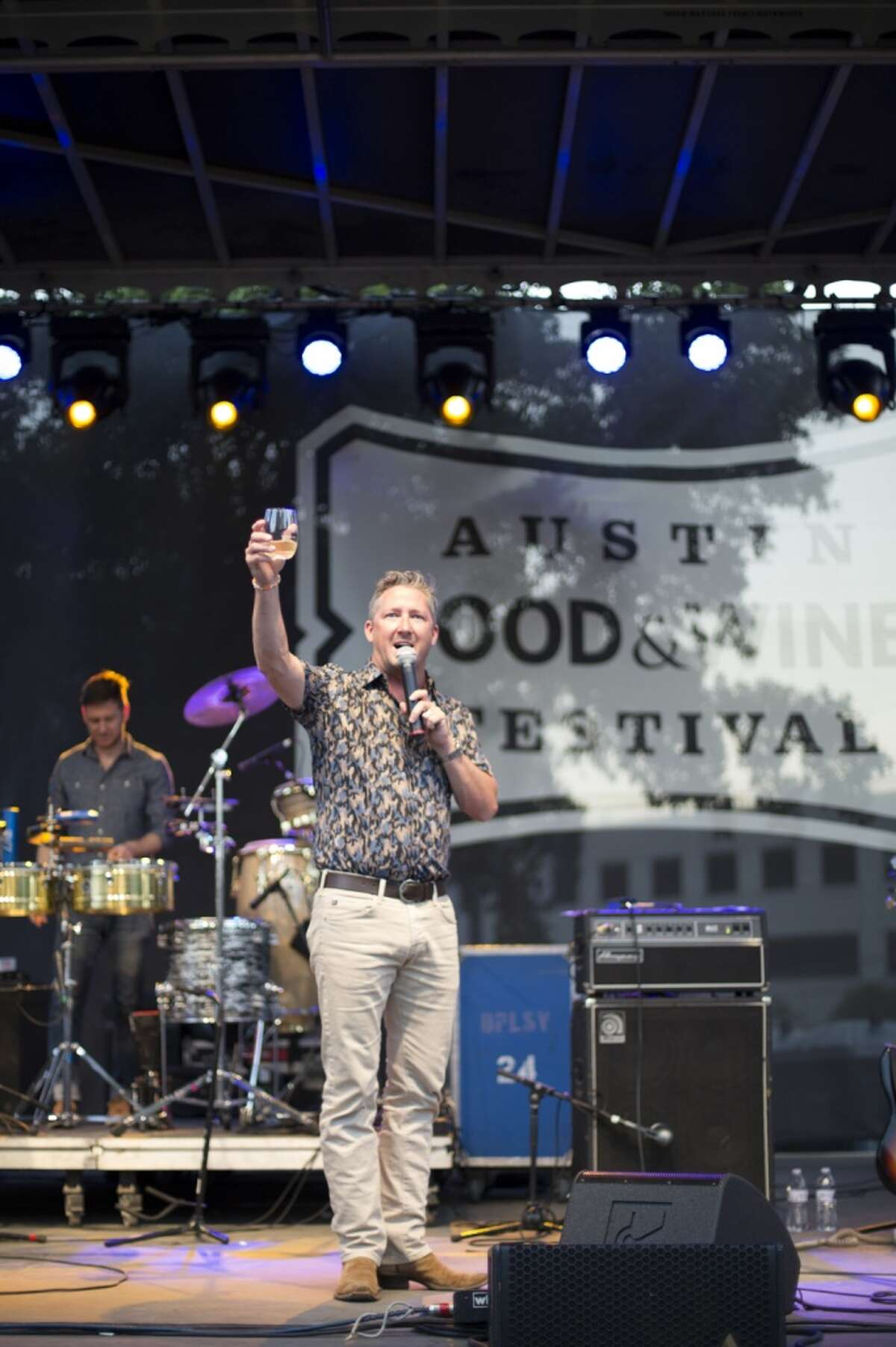 Chef Tim Love at the 2014 Austin Food + Wine Festival. Love will open a new restaurant, Woodshed, in Levy Park, Houston.