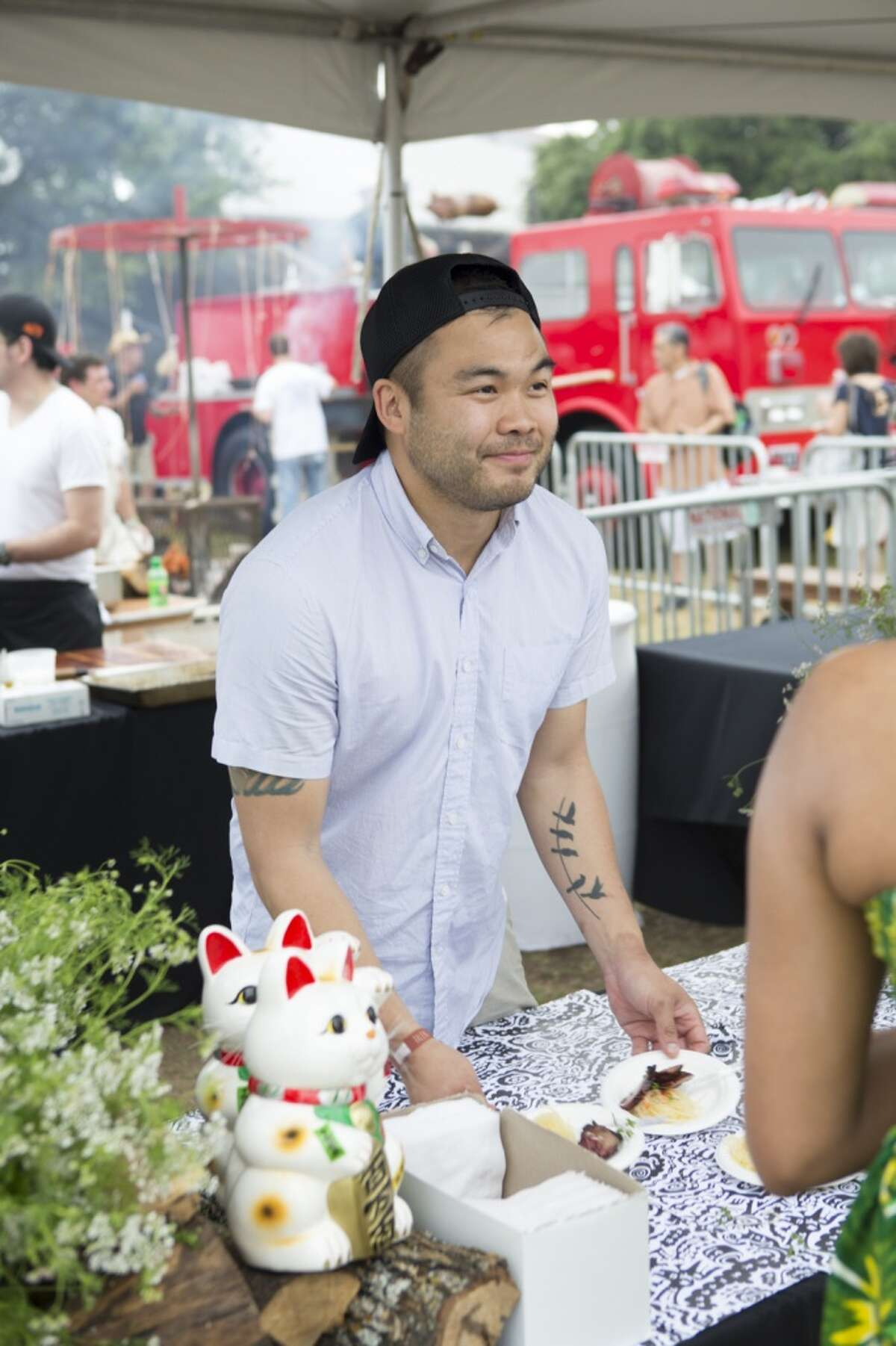 Austin chef Paul Qui at the 2014 Austin Food + Wine Festival.