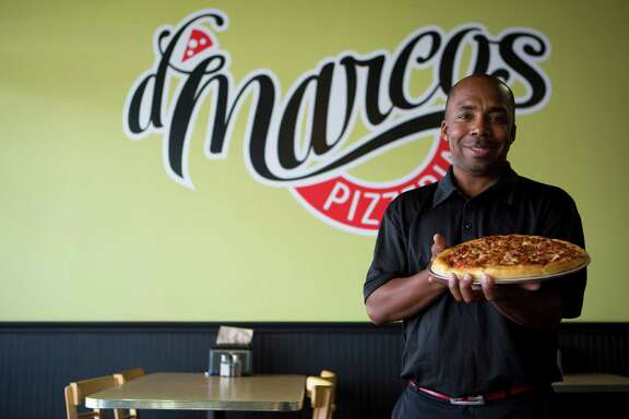 D'Marco's Pizzeria owner Demarco Jenkins will head to Las Vegas in March for the Pizza Expo, the international convention of pizza makers and pizzeria owners.