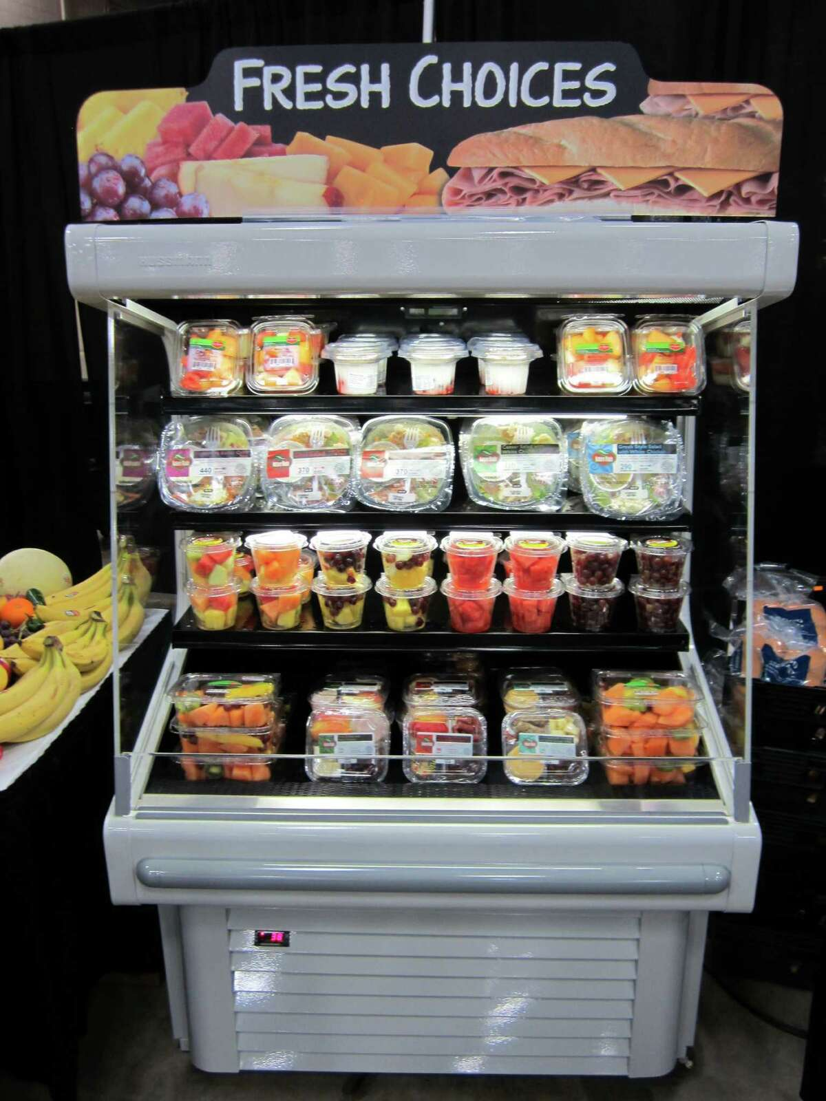 Corner Store managers could select healthier options to include on their store shelves as part of a push by CST Brands Inc. to capture more sales from Millennial shoppers.
