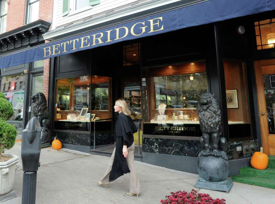 Betteridge Jewelry store at 117 Greenwich Ave., Greenwich, Conn., Tuesday, Oct. 21, 2014. The building sold for $7.2 million late last week. Photo: Bob Luckey / Greenwich Time