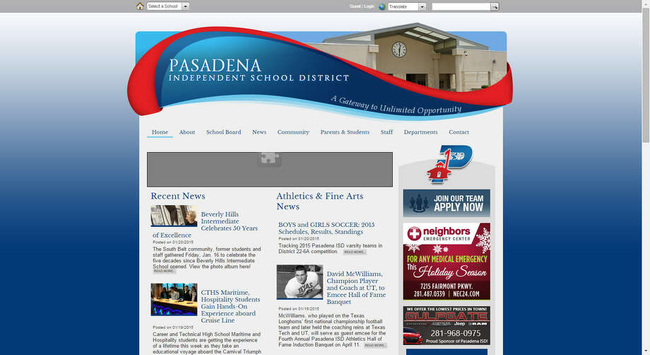 1. Pasadena ISDTruancy parents contributed to: 315Source: Texas Education Agency Disciplinary Data Photo: Pasadena Independent School District