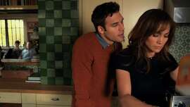 "Troubled teen Noah (Ryan Guzman) taunts sexy AP classics teacher Claire (Jennifer Lopez) after their night of passion in ""The Boy Next Door."""