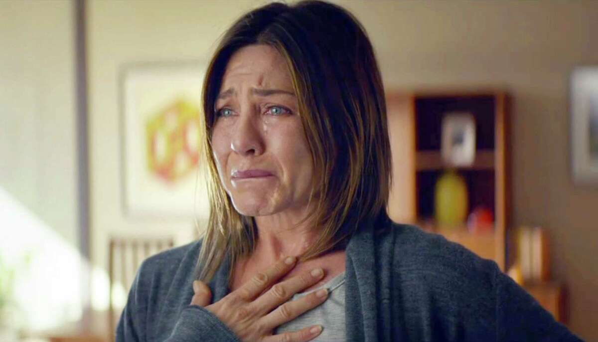 """Jennifer Aniston has been buffeted by life in """"Cake."""""""