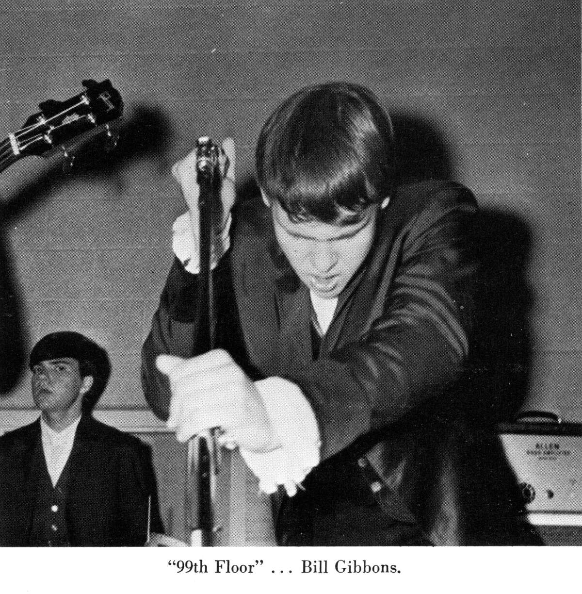 Billy Gibbons was performing when he was a student at Lee High School.