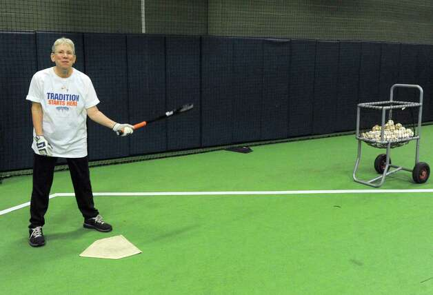 Wendy Shotsky at Frozen Ropes baseball training facility on Tuesday Jan. 20, 2015 in Albany, N.Y. (Michael P. Farrell/Times Union) Photo: Michael P. Farrell / 00030270A