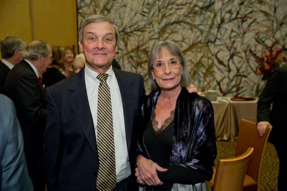 UTHealth Development Board Chair Bob Graham with his wife, Annie Graham Photo: Richard Carson