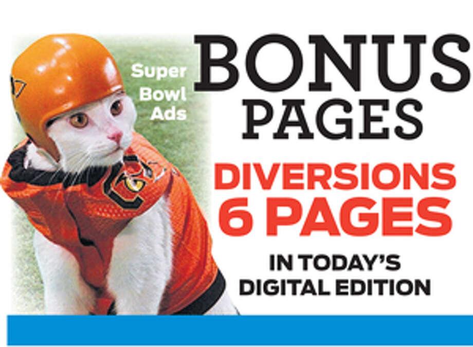 Print Promo for Diversions digital E-edition bonus pages Photo: File Art / Connecticut Post