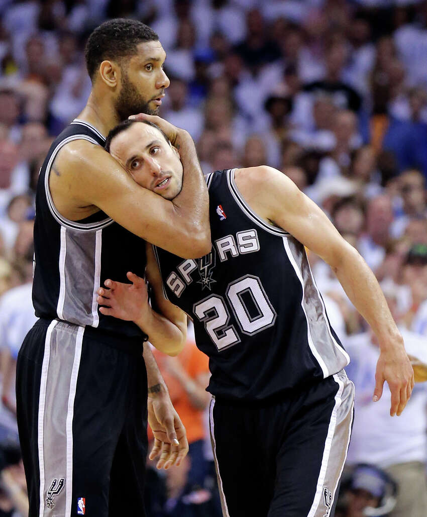 1. Hug it out with a friend, Timmy and Manu style