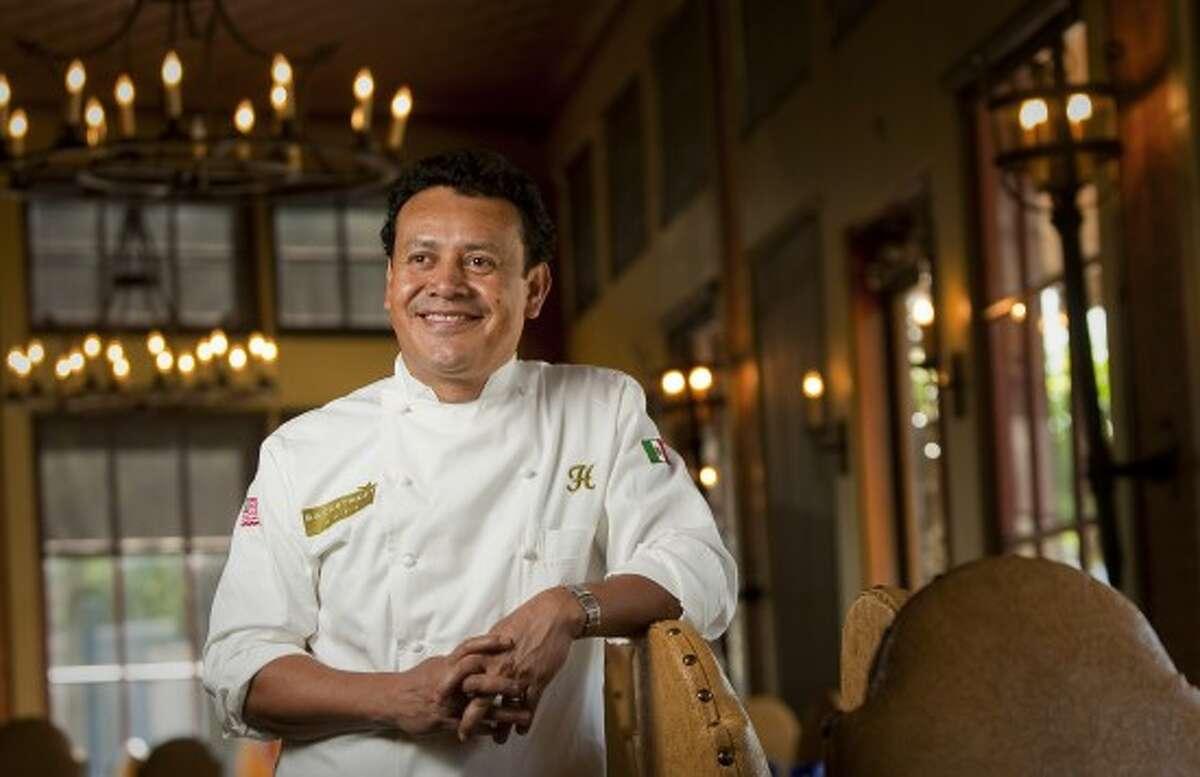 Chef Hugo Ortega in his namesake restaurant.