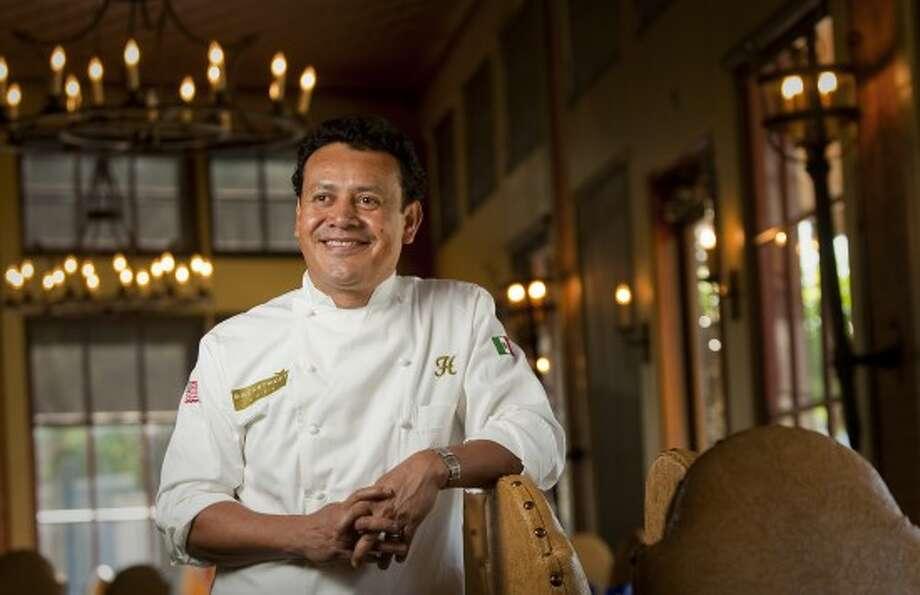Chef Hugo Ortega in his namesake restaurant. Photo: Chronicle Files